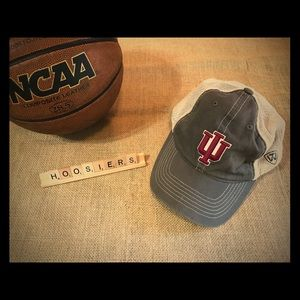 uk availability 18bd9 790b1 Accessories - Indiana Hoosiers Ball Cap - Trucker Style